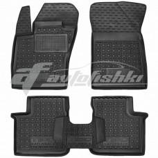 Резиновые коврики в салон для Fiat Tipo Hatchback (хетчбек) 2019-... Avto-Gumm