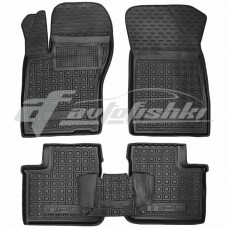 Резиновые коврики в салон для Fiat Tipo Sedan (седан) (Mid/Pop) 2016-... Avto-Gumm
