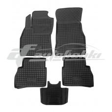Резиновые коврики в салон для Fiat Doblo 2010-… Avto-Gumm