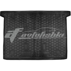 Коврик в багажник Fiat Doblo II (7 мест) (короткая база) 2010-... Avto-Gumm