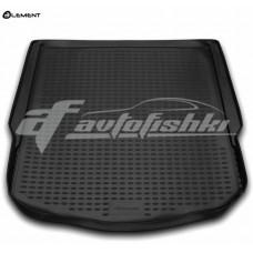 Резиновый коврик в багажник на Ford Mondeo IV Turnier (универсал) (с запаской) 2007-2015 Novline (Element)