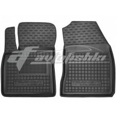 Резиновые коврики в салон для Ford Transit Courier (1+1) 2014-... Avto-Gumm