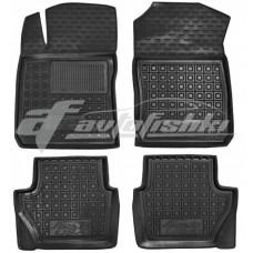 Резиновые коврики в салон для Ford Fiesta VII USA (американская версия) 2015-2018 Avto-Gumm