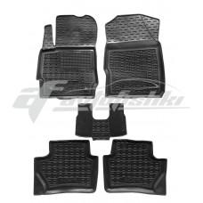 Резиновые коврики в салон для Ford Ka III (Ka+) 2019-... Avto-Gumm