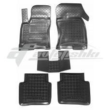 Резиновые коврики в салон для Ford Mondeo III 2000-2007 Avto-Gumm