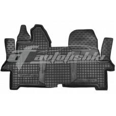 Резиновые коврики в салон для Ford Transit VII (1+2) 2014-... Avto-Gumm