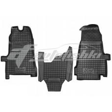 Резиновые коврики в салон для Ford Transit 2006-2013 Avto-Gumm