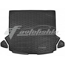 Резиновый коврик в багажник для Haval H6 III 2021-... Avto-Gumm