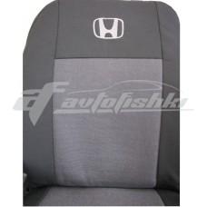 Чехлы на сиденья для Honda FR-V 2004-2009 EMC Elegant