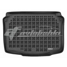 Коврик в багажник резиновый для Seat Ibiza IV Hatchback (хэтчбек) 2008-2017 Rezaw-Plast