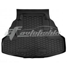 Резиновый коврик в багажник для Honda Accord (седан) 2008-2013 Avto-Gumm
