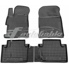 Резиновые коврики в салон для Honda Civic IX Sedan (седан) 2011-2015 Avto-Gumm
