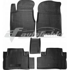 Резиновые коврики в салон для Honda CR-V III 2007-2012 Avto-Gumm