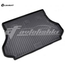 Резиновый коврик в багажник на Hyundai Santa Fe Classic 2000-2006 Novline (Element)
