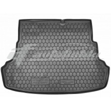 Резиновый коврик в багажник для Hyundai Accent (Solaris) Sedan (седан) 2011-2017 Avto-Gumm