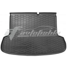 Резиновый коврик в багажник для Hyundai Accent (sedan) 2006-2011 Avto-Gumm