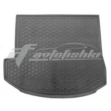 Резиновый коврик в багажник для Hyundai Grand Santa Fe III Top (7 мест) 2012-2018 Avto-Gumm