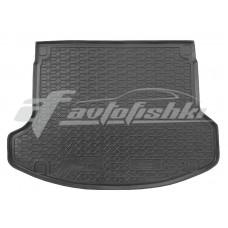 Резиновый коврик в багажник для Hyundai I30 Fastback (хэтчбек) 2019-... Avto-Gumm