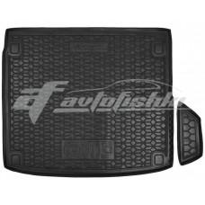 Гумовий килимок в багажник для Hyundai Ioniq 5 (з сабвуфером) 2021-... Avto-Gumm