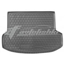Резиновый коврик в багажник для Hyundai IX35 2010-2015 Avto-Gumm