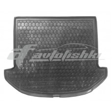 Резиновый коврик в багажник для Hyundai Santa Fe III (7 мест) 2012-2018 Avto-Gumm