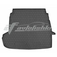 Резиновый коврик в багажник для Hyundai Sonata YF 2009-2015 Avto-Gumm