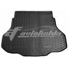 Резиновый коврик в багажник для Hyundai Elantra VII (CN7) 2021-... Avto-Gumm