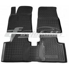 Резиновые коврики в салон для Hyundai Elantra (CN7) 2021-... Avto-Gumm