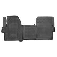 Резиновые коврики в салон для Hyundai H350 2014-... Avto-Gumm