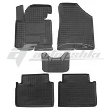 Резиновые коврики в салон для Hyundai IX35 2010-2015 Avto-Gumm