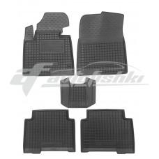 Резиновые коврики в салон для Hyundai Grand Santa Fe III (2 ряда) 2012-2018 Avto-Gumm