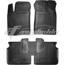Резиновые коврики в салон для Hyundai Sonata NF 2004-2010 Avto-Gumm
