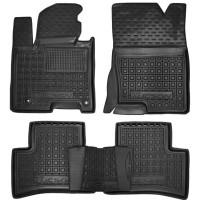 Гумові килимки в салон для Hyundai Tucson IV Hybrid (гібрид) 2021-... Avto-Gumm