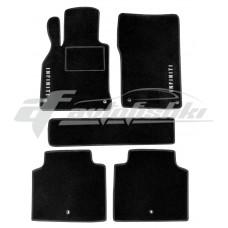 Коврики ворсовые в салон для Infiniti M25 / M37 / M56 / M35h / M30d 2010-... черные, Украина