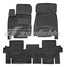 Резиновые коврики в салон для Infiniti JX / QX60 2012-... Avto-Gumm