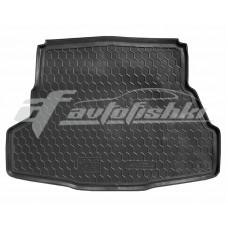 Резиновый коврик в багажник для Jac J5 2009-... Avto-Gumm