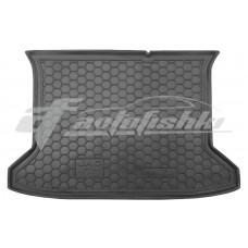 Резиновый коврик в багажник для Jac S3 2014-... Avto-Gumm