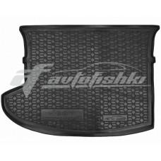 Резиновый коврик в багажник для Jeep Compass 2006-2016 Avto-Gumm