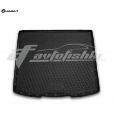 Резиновый коврик в багажник на Jeep Cherokee KL 2013-... Novline (Element)