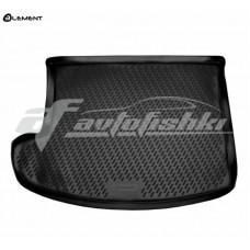Резиновый коврик в багажник на Jeep Patriot 2006-2017 Novline (Element)