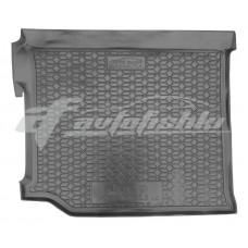 Резиновый коврик в багажник для Jeep Wrangler 2018-… Avto-Gumm