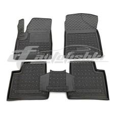 Резиновые коврики в салон для Jeep Cherokee KL 2014-... Avto-Gumm