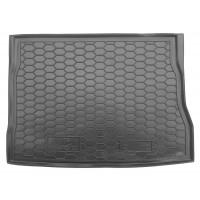 Резиновый коврик в багажник для Kia Ceed Hatchback (хэтчбек) 2010-2012 Avto-Gumm