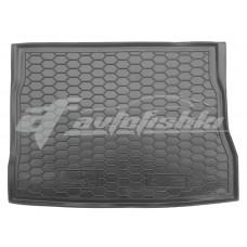 Резиновый коврик в багажник для Kia Ceed Hatchback (хэтчбек) 2006-2012 Avto-Gumm