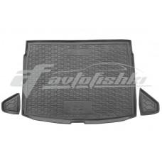 Резиновый коврик в багажник для Kia Ceed Hatchback 2018-... (верхняя полка) Avto-Gumm