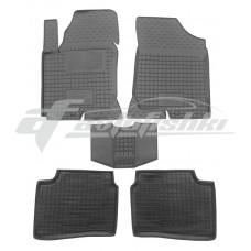 Резиновые коврики в салон для Kia Ceed 2010-2012 Avto-Gumm