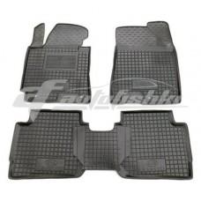 Резиновые коврики в салон для Kia Cerato III 2013-2018 Avto-Gumm