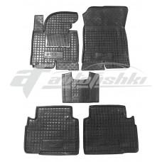 Резиновые коврики в салон для Kia Sportage III 2010-2016 Avto-Gumm