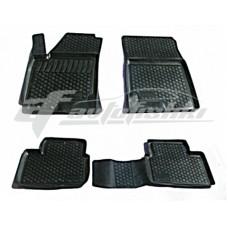 Резиновые коврики на Kia Ceed 2010-2012 Lada Locker