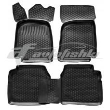Резиновые коврики на ВАЗ 2101-2107 1970-2012 Lada Locker